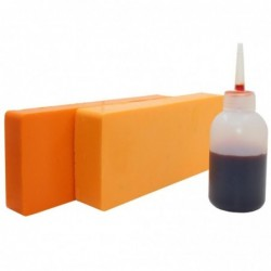 Soaps color orange 135 gr