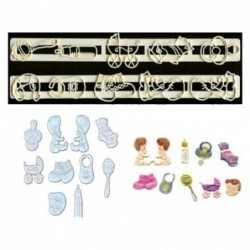 Baby Cookie Cutters Ruler Set