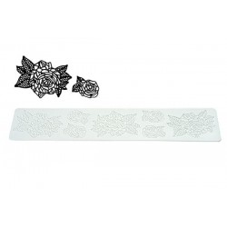 Rose single lace silicone...