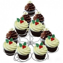 Lacy Cupcake Stand Muffins...