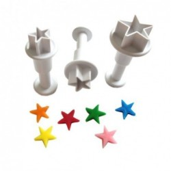 Star cookie cutters set 3...