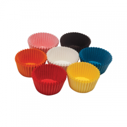 Colored cupcake molds...