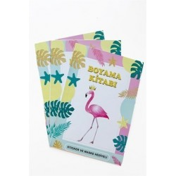 Flamingo coloring book (10...