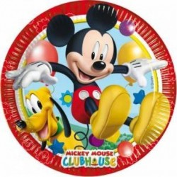 Mickey Playfull Party Plate...