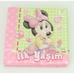 Baby Minnie napkin