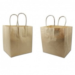 Kraft cake carrier bag...