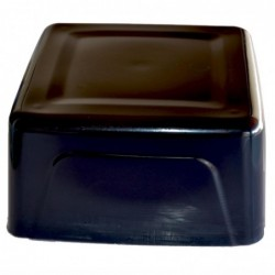 Soap base raw soap black 1 kg