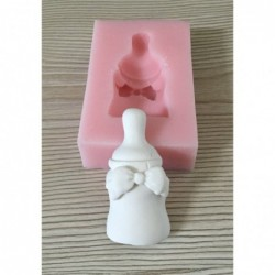 Silicone soap mold arch bottle