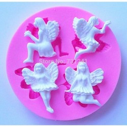 Silicone soap mold angel...